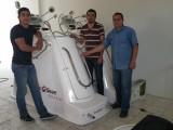 předávání stroje VacuShape v Mexiku